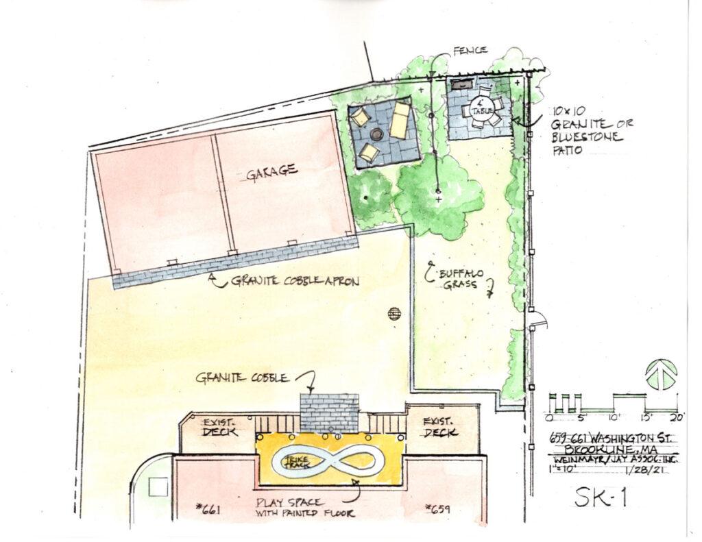 Brookline Duplex SK-1
