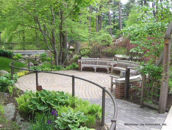 Healing Garden design by Weinmayr/Jay Landscape Architects