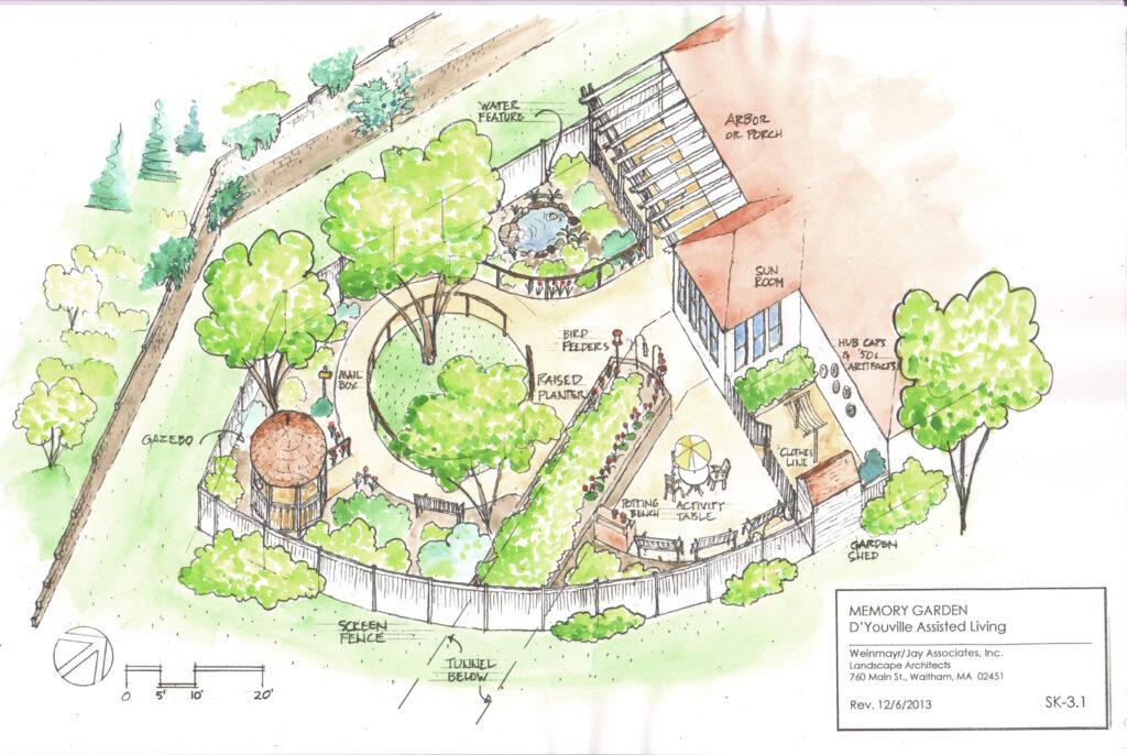D'Youville Memory Garden