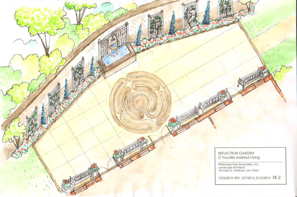 D'Youville Reflection Garden